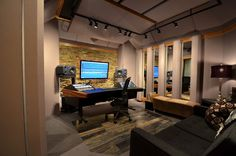 audio room | equipment of sound recording and smart layout creative design room ...