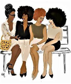 Pour un week-end entre amies réussi, elles passent par Be Nappy  Rendez-vous sur www.benappy.fr/  #nappy #afro #hair #benappy #hairstyle #black #noir #paris #france #black #blackness #blackhair #nappyhair #afrohair #afrostyle #naturalhair #braids #tresses #afrohair #nattes #cheveuxcrepus #afrohairtsyle #africanbeauty #curlyfro #coiffureadomicile #cheveuxnaturels #afro #tissage #crochetbraids