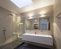 Fugenloses Bad mit Beton Cirè (von Einwandfrei - innovative Malerarbeiten oHG)
