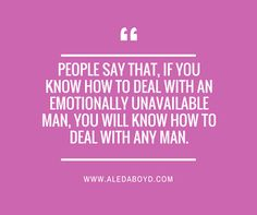 The emotionally unavailable man a blueprint for healing