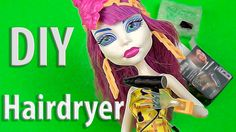 Miniature of hairdyer for Dolls