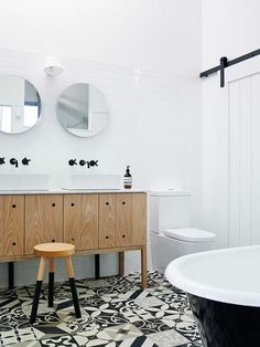 When it comes to designing your own Minimalist Scandinavian . Uncover More Dazzling Scandinavian Bathroom Minimalist Ideas Vanity, Minimalist Scandinavian, Scandinavian Home, Round Mirror Bathroom, Bathroom Interior, Bathroom Plans, Bathroom, Scandinavian Bathroom, Bathroom Decor