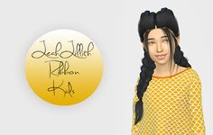Lana CC Finds - Leahlillith Ribbon - Kids Version