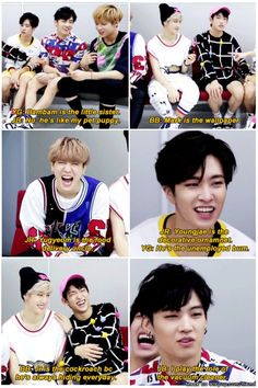 you guys.. the question was to describe the members' roles in the dorms, not throw shades at each other (Source: wangjackseons) | allkpop Meme Center