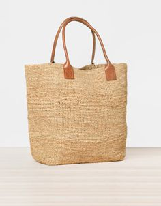 Raffia bag - Beachwear - Spain
