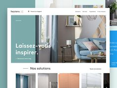 Heytens Homepage concept by Jubeo