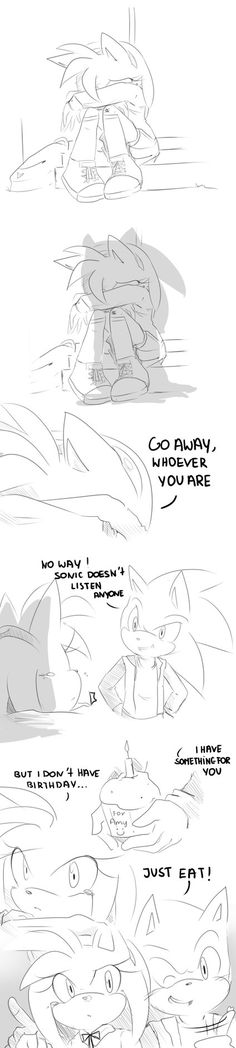 Sonic wants say 'Sonic-Amy We need you on the set' but has seen Amy 80% naked XDDDDDDDD maybe 'animation' ? yeah i will think about it :3 'ANIMATION'~klaudyna9818.deviantart.com/ar…