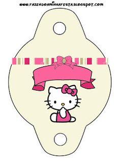 Imprimibles de Hello Kitty 16.