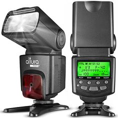 Altura Photo APN1001 Speedlite Flash for Nikon DSLR Camera with AutoFocus ITTL Wireless Trigger Slave Function ** Want to know more, click on the image.