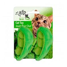 Brinquedo para Gatos Green Rush-All Natural Ervilha AFP - Meuamigopet.com.br #cat #cats #gato #gatinho #bigode #muamigopet