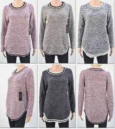 women's marled sweaters Case of 48