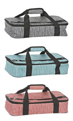 Make transporting food easier with Kirkland's Petals Casserole Totes! Available in red, turquoise and black, each one is perfect for going on a picnic or for bringing food to a party. Buy yours now for just $10.39 through July 24.