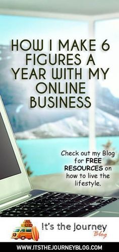How I make 6 figures a year with my online business. Blogging, affiliate marketing, SEO, web design, ebay, make money online.