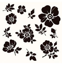 Flower decorative vector 2653314 - by Gizel on VectorStock®