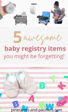 I'm a mom of two and am sharing 5 of my favorite baby products that I forgot to add to my own baby registry! Don't forget these 5 baby registry items on your registry. Must-haves for babies and young toddlers. Pregnancy Checklist, Newborn Schedule, Baby Registry Checklist, Baby Registry Must Haves, Baby Registry Items, Baby Schedule, Baby Must Haves, Pregnancy Tips, Bringing Baby Home