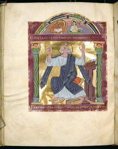 Heinrich, Römisch-Deutsches Reich, Kaiser, II.: Gospel - BSB Clm 4454, Reichenau, the top 11 Century [BSB Hss Clm 4454] - Image 182