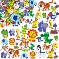 Stickers Animaux de la Jungle en Mousse (Lot de 96) Baker Ross http://www.amazon.fr/dp/B00HU4LE3G/ref=cm_sw_r_pi_dp_EO42tb04C0XW18RK