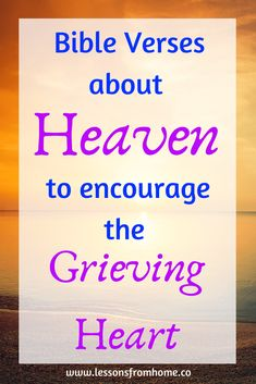 Encouragement for grief from scripture. For those who have lost a loved one or want to help someone in grief, this post has beautiful Bible verses of hope. Bible Verse For Grief, Bible Verses For Kids, Bible Verses About Love, Encouraging Bible Verses, Scripture Verses, Bible Scriptures, Bible Quotes, Bible Verses For Funerals, Faith Bible