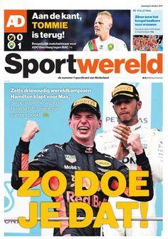 AD Sportwereld, maandag 2 oktober 2017.