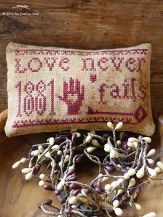 FREEBIE: LOVE NEVER FAILS...thank you Isabel...love her designs!!
