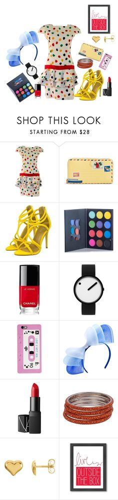 """""""live outside the box"""" by grace-buerklin ❤ liked on Polyvore featuring Guy Laroche, Vera Bradley, Chanel, Rosendahl, NARS Cosmetics and Americanflat"""