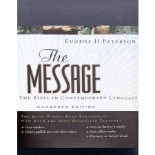 The Message Bible - Numbered Edition