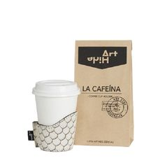 La Cafeina coffee cup holder in zeus