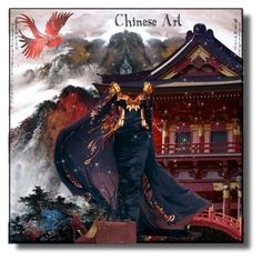 """Chinese Art!"" by eco-art ❤ liked on Polyvore featuring art"