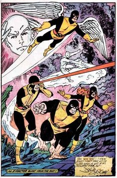 "silveragelovechild: ""I loved John Byrne's run on the X-Men. It was maybe the best series of stories in comic history. """