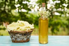 Osviežujúce domáce sirupy nielen na jar Cordial Recipe, Elderflower Cordial, Gin Lemon, European Cuisine, Medicinal Herbs, Snacks, Summer Drinks, Seitan, Healthy Life