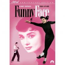 """""""Funny Face"""" (1957) Audrey Hepburn and  Fred Astaire Musical. A Greenwich Village bookstore sales girl is offered a modeling contract and a trip to Paris"""