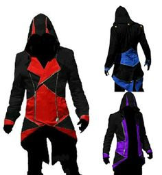 Fashion Assassins Creed 3 Cosplay Hoodies Plus Size Jacket Cosplay Costume Customizable Casual Costume for Men Women Cap Cloak $43.99