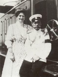 Tzar Nicholas II and his wife Alexandra Feodorovna