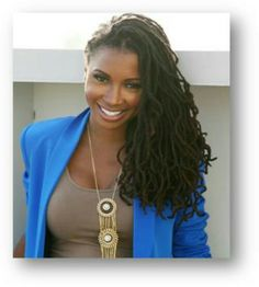 Shanola Hampton - love her dreads Dreads, Dreadlock Hairstyles, Cool Hairstyles, Curly Hair Styles, Natural Hair Styles, Pelo Natural, Natural Hair Inspiration, Beautiful Black Women, Hair Hacks