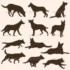 Stencils on Pinterest | Stencil, Dog Silhouette and Silhouette