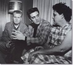 Elvis, Mother & Father..