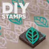 Never pay for overpriced stamps at the craft store again. Make your own unique and customized stamps at home for a fraction of the cost! 💯 #DIYprojects