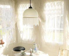 ~◇~++Alte+Deckenlampe,+Jugendstil+-Art+++~◇~+von+Weidenröschen+auf+DaWanda.com