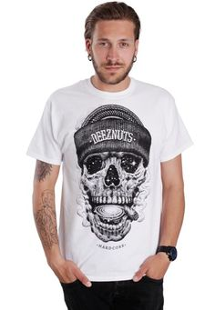 b01617e736 Order Deez Nuts - Cosmic Skull White - T-Shirt by Deez Nuts for at the Impericon  UK online shop in great quality.