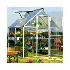 Large-Polycarbonate-Greenhouse-Garden-Walk-In-Lawn-Plant-Outdoor-Commercial-Unit