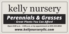 Vinyl Banners,for Kelly nursery,  AllstateBanners.com Perennial Grasses, Vinyl Banners, Marketing Materials, Nursery, Baby Room, Child Room, Babies Rooms, Kidsroom