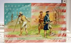 "Antique Postcard of George Washington by Tuck in the series ""George Washington's Birthday"""