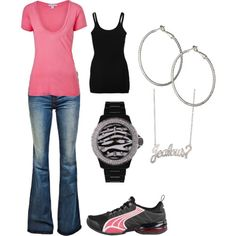 So this is 'the real me'.. I actually own the shoes, and love them... love that watch!!!
