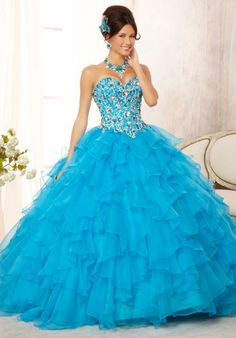 Shop now for the latest styles of quinceanera dresses neon blue! Today I am bringing along a beautiful assemblage of quinceanera dresses neon blue Quince Dresses, Ball Dresses, Ball Gowns, Evening Dresses, Prom Dresses, Formal Dresses, Dresses 2016, Dress Prom, Formal Wear