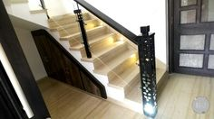 Stair case made of iron... high quality sustainable... cnc work used...