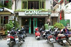 cafes in Hanoi on Sunkissed Suitcase