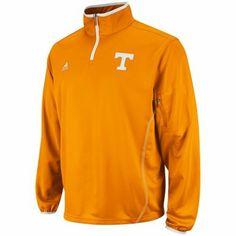 adidas Tennessee Volunteers Orange 2012 Football Sideline Logo Quarter-Zip Jacket $26.99 Lg