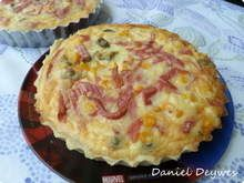 Quiche-de-mortadela Calzone, Mashed Potatoes, Pie, Breakfast, Ethnic Recipes, Desserts, Food, Afternoon Snacks, Puddings