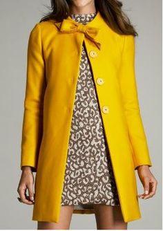 Perfect. Yellow. Coat.