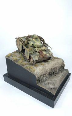 Panzer III 1/35 Scale Model Diorama